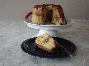 Apple Sour Cream Tea Cake